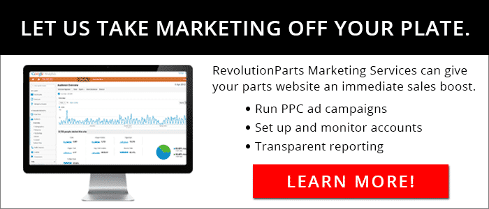 RevolutionParts Marketing Services