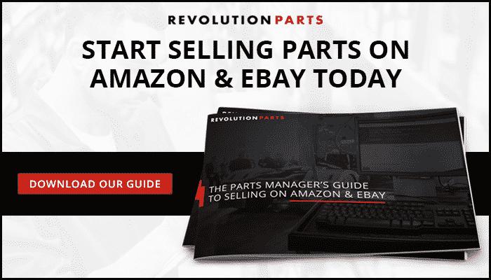 Start Selling Parts on Amazon & eBay Today