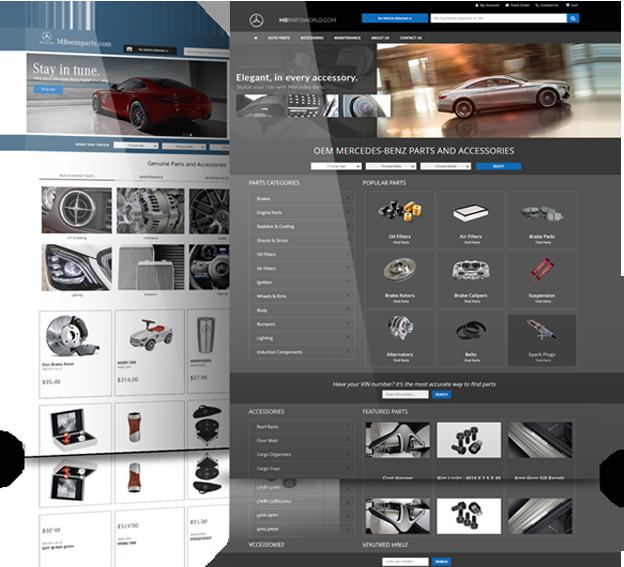 Parts Department Web Store