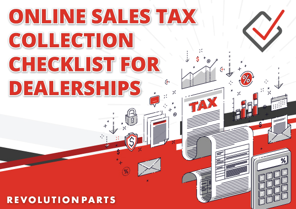Online Sales Tax Collection Checklist for Dealerships