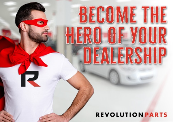 Become the Hero of Your Parts Department