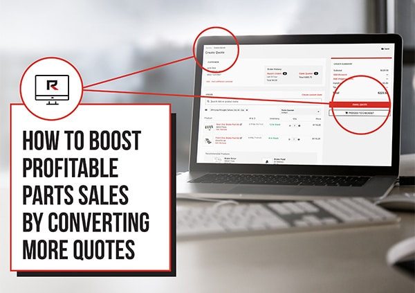 How to Boost Profitable Parts Sales by Converting More Quotes