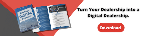 banner to download how to create a digital dealership for digital marketing in the parts department