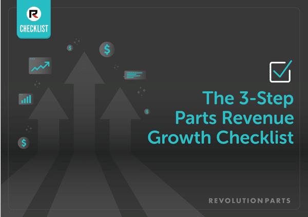 Parts Department Growth Plan Checklist
