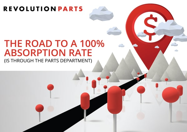 The Road to 100% Absorption Rate (is through the Parts Department)