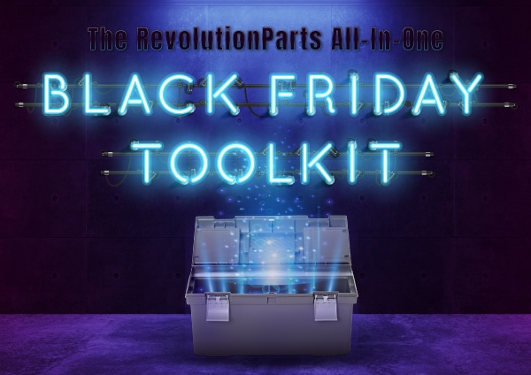 The RevolutionParts All-In-One Black Friday Toolkit