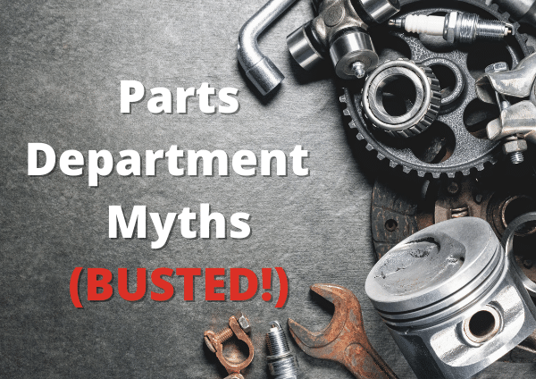 busted parts department myths banner
