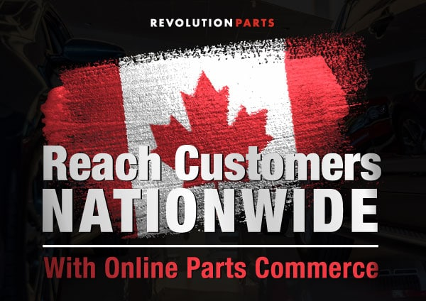 Reach Customers Nationwide with Online Parts Commerce