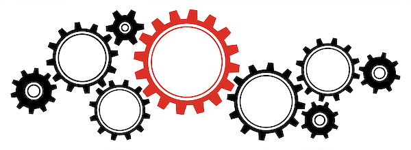 gears that represent the workflow process